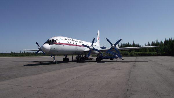 Iljuszyn Ił-18 (fot. Mark Fahey)