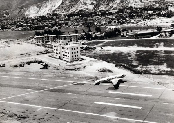 Kai Tak Airport w 1959 roku