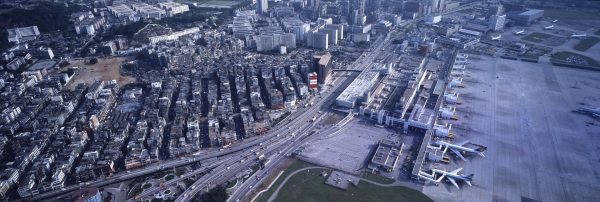 Kowloon Walled City i Kai Tak Airport