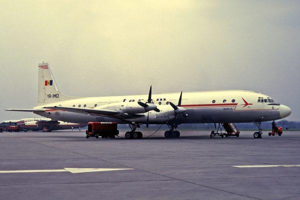 Iljuszyn Ił-18 (fot. Ken Fielding)