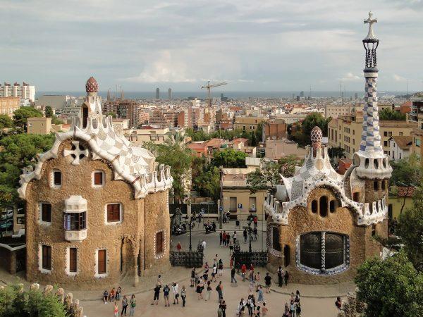 Park Güell, Barcelona, Hiszpania (fot. Bernard Gagnon/Wikimedia Commons)