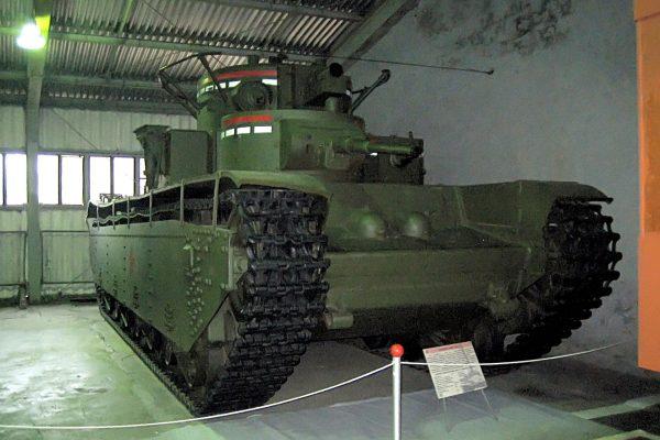 T-35 współcześnie w Kubince