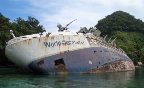MS World Discoverer (fot. Philjones828/Wikimedia Commons)