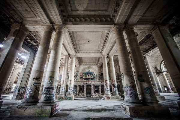 Michigan Central Station (fot. Thomas Hawk)