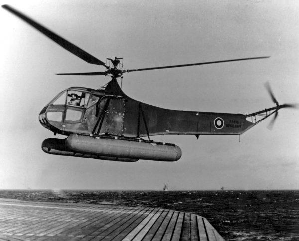 Brytyjski Sikorsky R-4