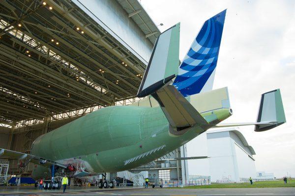 Airbus Beluga XL (fot. H. Gousse/Airbus)