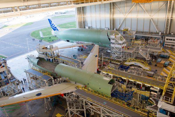Airbus Beluga XL (fot. P. Masclet/Airbus)
