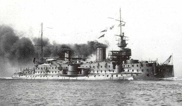Carnot w 1896 roku podczas prób morskich