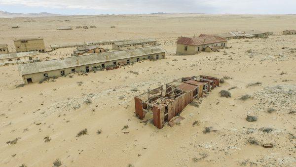 Kolmanskop (fot. SkyPixels)
