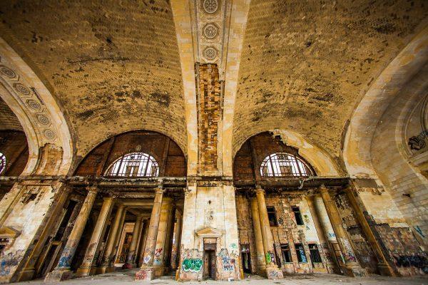 Michigan Central Station (fot. Thomas Hawk)