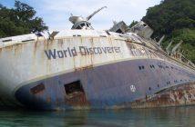 Wrak MS World Discoverer