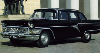 GAZ-13 Czajka - radziecka limuzyna rządowa