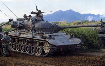Pierwszy japoński czołg podstawowy - Typ 61