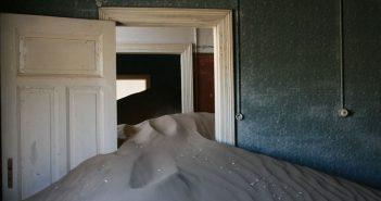 Kolmanskop - opuszczone miasto górnicze w Namibii