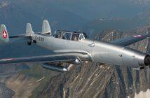 F+W C-3605 Schlepp - szwajcarski samolot do holowania celów