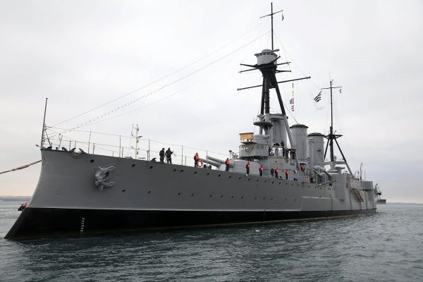 Krążownik Georgios Averof (fot. MotionTeam/Fani Tripsani)
