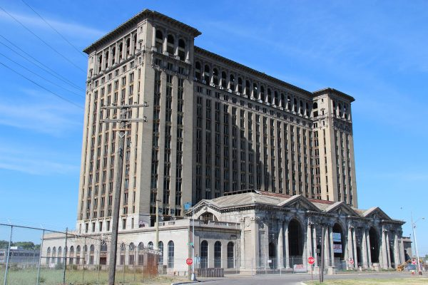 Michigan Central Station (fot. C. Hanchey)