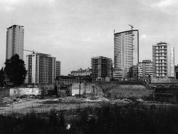 Pirelli Tower podczas budowy (fot. Paolo Monti)