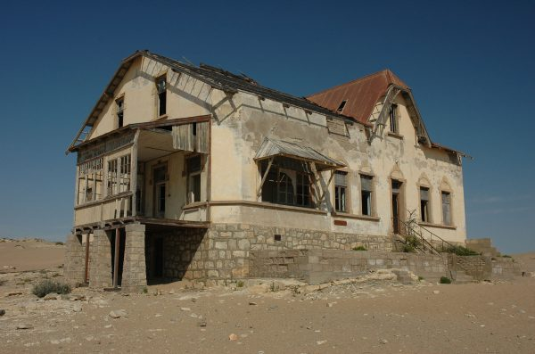 Kolmanskop (fot. Calips/Wikimedia Commons)