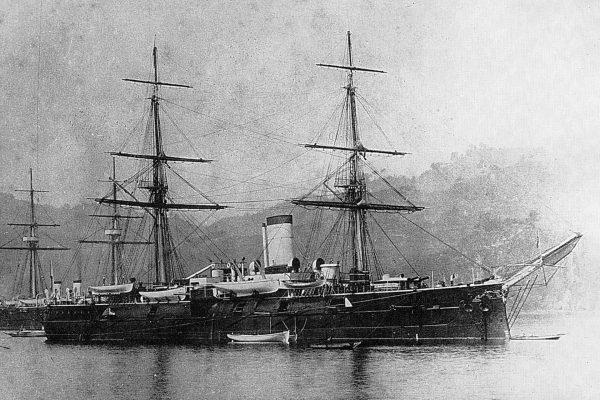 Rosyjski krążownik pancerny Admirał Nachimow