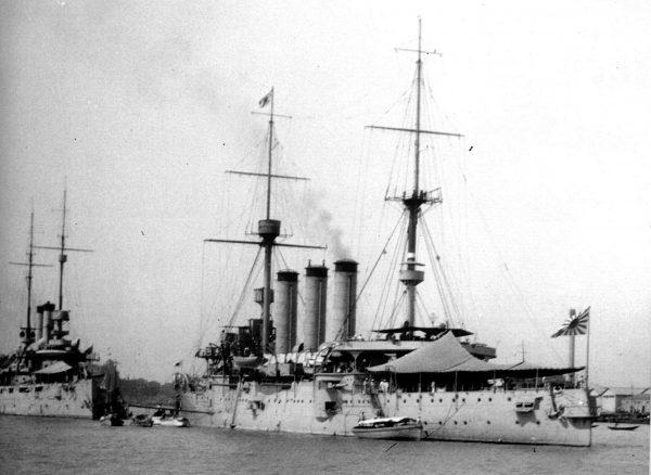 Japoński krążownik Izumo