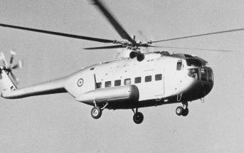 Zapomniany włoski śmigłowiec Agusta A.101