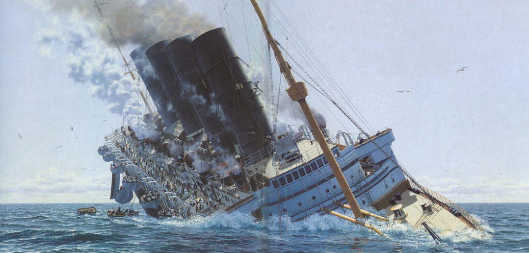 Zatopienie liniowca RMS Lusitania