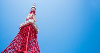 Tokyo Tower - wieża telewizyjno-radiowa w Tokio