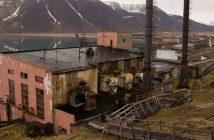 Pyramiden - prawie opuszczona rosyjska osada górnicza w Norwegii