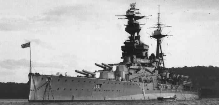 HMS Royal Oak - weteran zatopiony w porcie