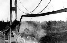 Galopującą Gertie - katastrofa mostu Tacoma Narrows Bridge