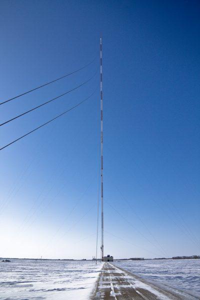 Maszt radiowy KVLY-TV mast (fot. Wikimedia Commons)