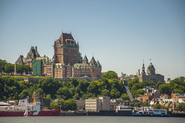Château Frontenac (fot. Jean-Philippe Bourgoin)