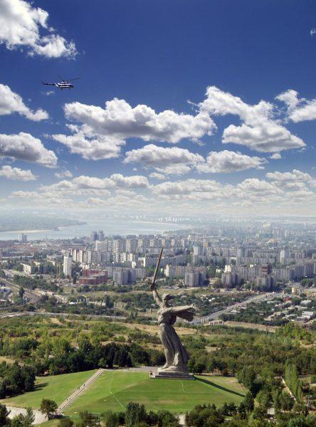 Panorama Wołgogradu