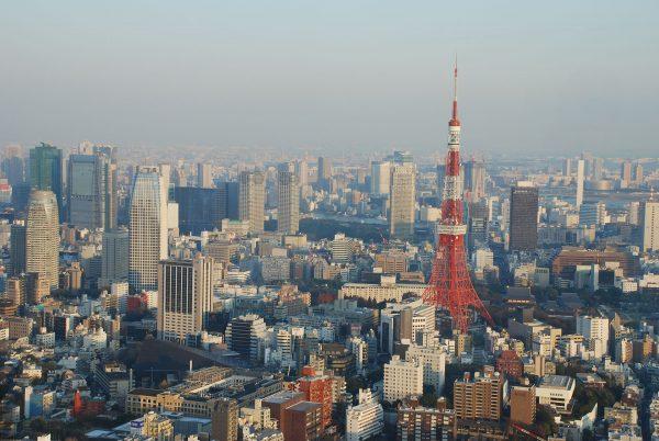 Tokyo Tower (fot. Wilhelm Joys Andersen)