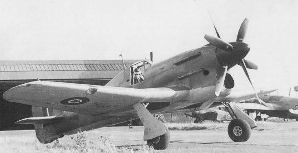 Hawker Tornado (R7936)