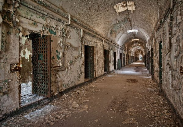Holmesburg Prison (fot. Caters/mirror.co.uk)