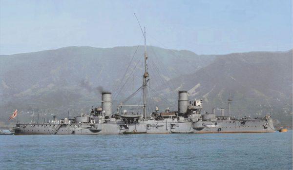 Japoński krążownik Nisshin