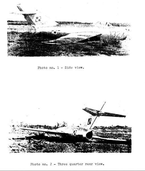 Fragment raportu CIA ze zdobycia polskiego Miga-15