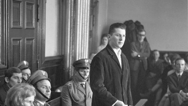 Rudolf Olma podczas procesu