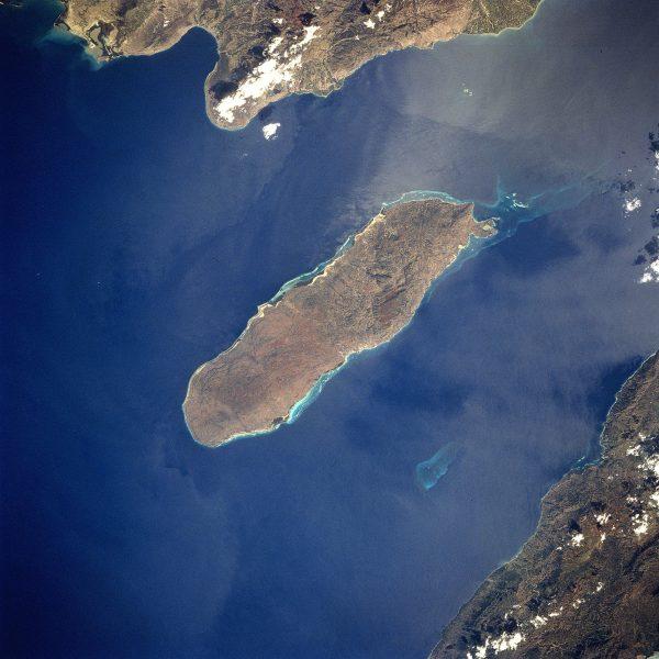 Wyspa Gonâve, w pobliżu której zatonęła Mary Celeste