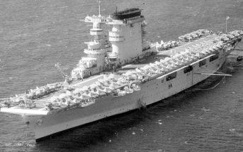 USS Lexington (CV-2) - legendarny amerykański lotniskowiec