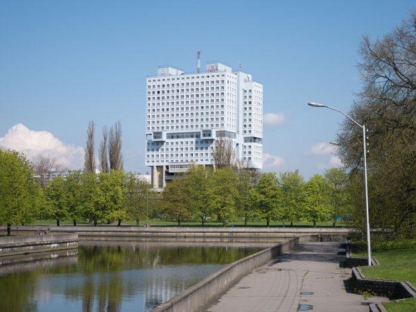Dom Sowietów w Kaliningradzie (fot. Dave Collier)