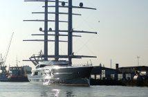 Black Pearl (Y712) - jeden z największych prywatnych jachtów żaglowych
