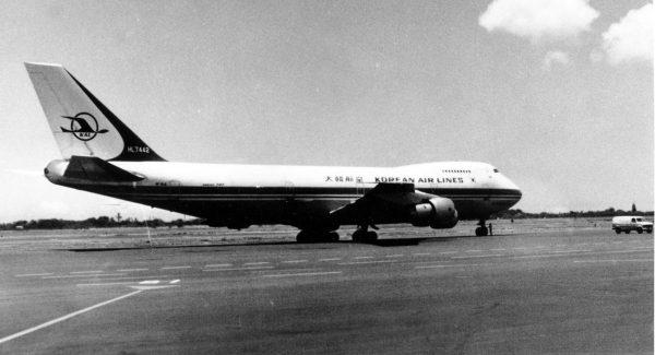 Boeing 747-200A (HL7442)