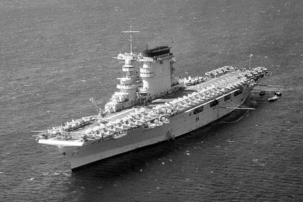 USS Lexington w 1938 roku
