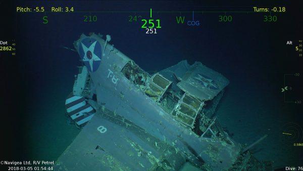 Douglas TBD-1 Devastator z USS Lexington (fot. Navigea Ltd./paulallen.com)