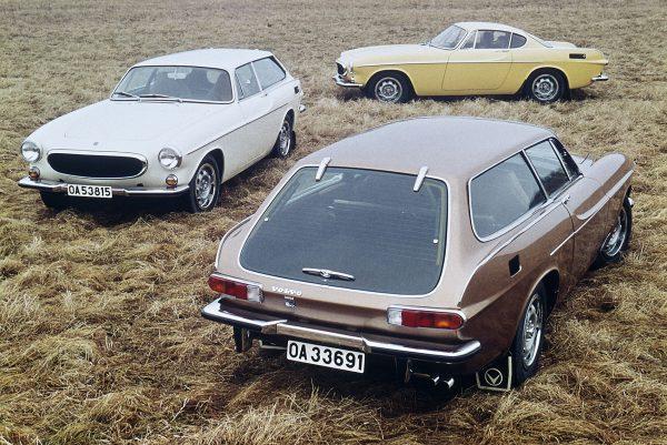 Volvo 1800ES i Volvo 1800E (fot. Volvo)