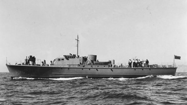 Brytyjski ścigacz typu Fairmile B