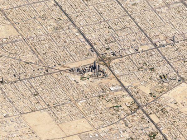 Rijad, Arabia Saudyjska - 10 marca 2018 roku (fot. Planet Labs)